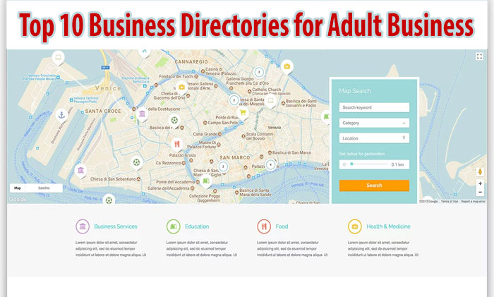Top 10 Business Directories for Adult Business
